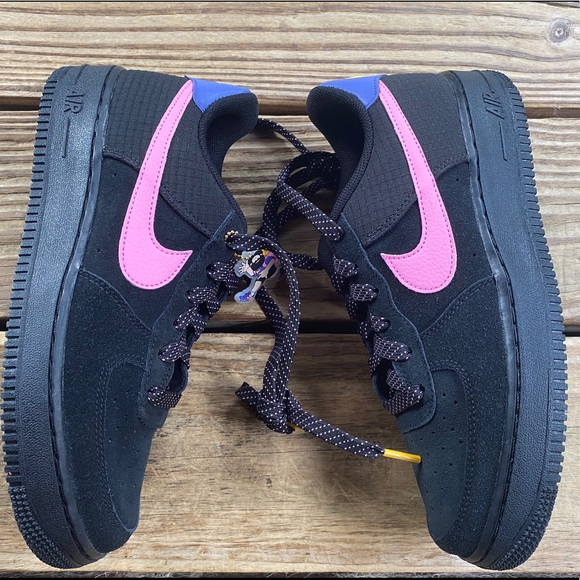 Nike Shoes Air Force 1 07 Lv8 Black Acg Pink Af1 Poshmark